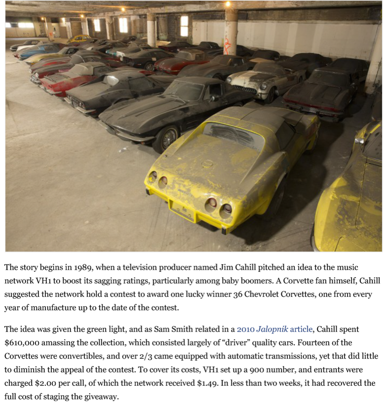 After a 25-year slumber, the VH1 - Peter Max Corvettes resurface | Hemmings Daily_Page_02