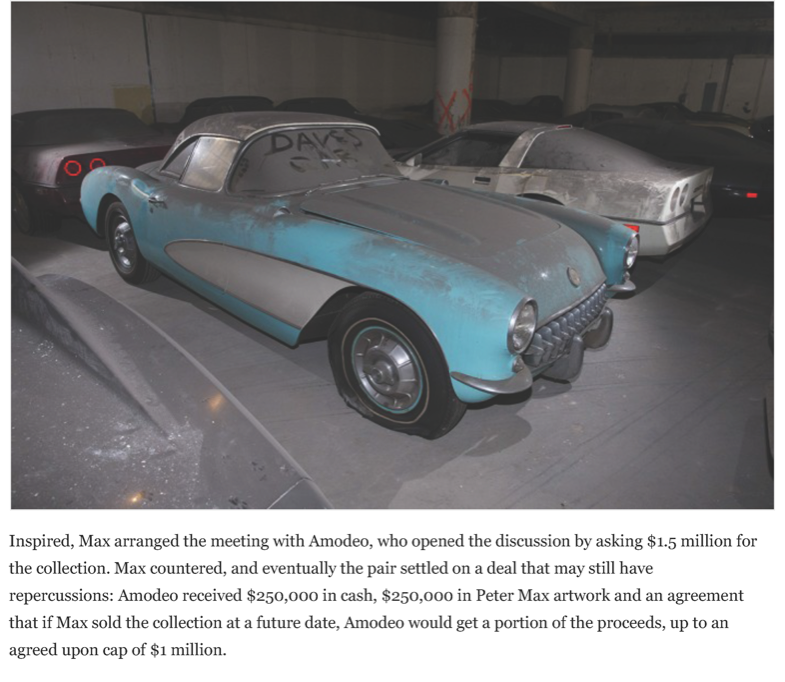 After a 25-year slumber, the VH1 - Peter Max Corvettes resurface | Hemmings Daily_Page_05