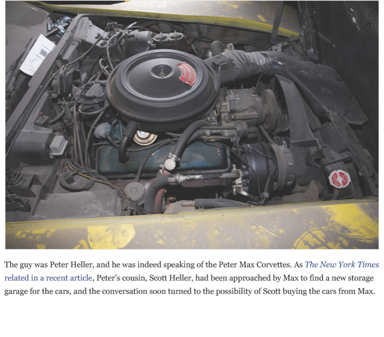 After a 25-year slumber, the VH1 - Peter Max Corvettes resurface | Hemmings Daily_Page_08