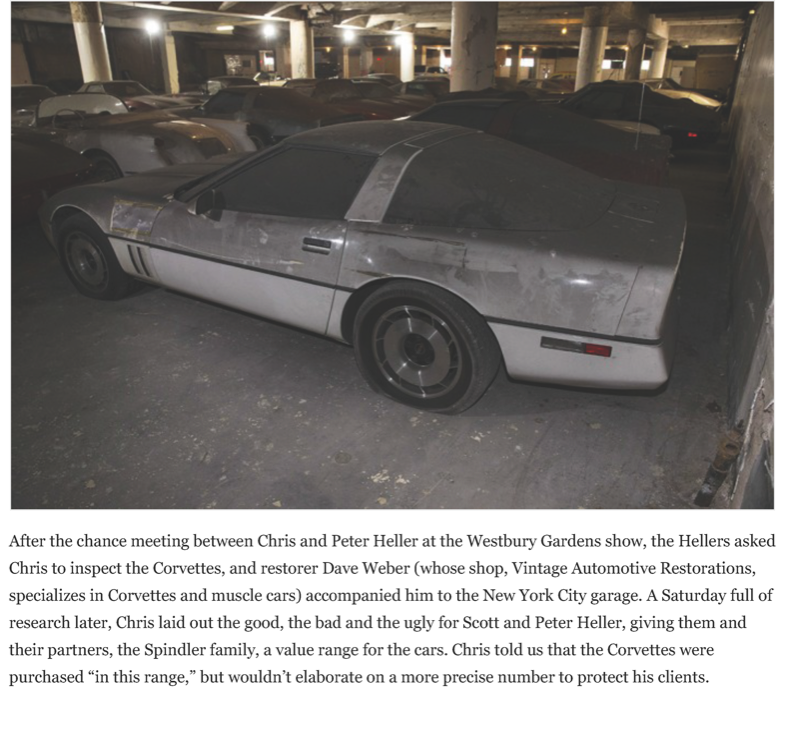 After a 25-year slumber, the VH1 - Peter Max Corvettes resurface | Hemmings Daily_Page_09