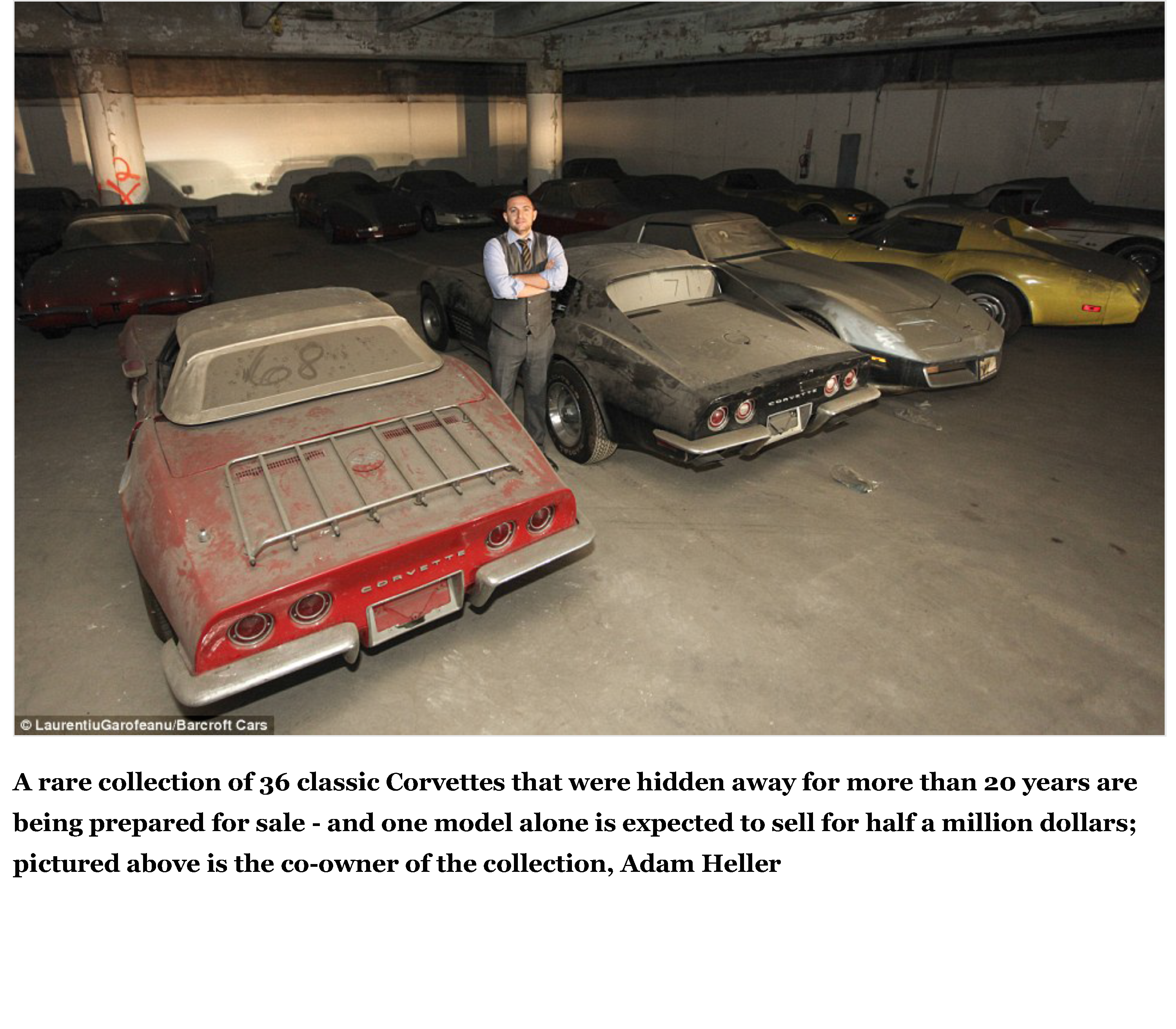 36 Corvettes are found collecting dust in a garage after 25 years | Daily Mail Online_Page_02