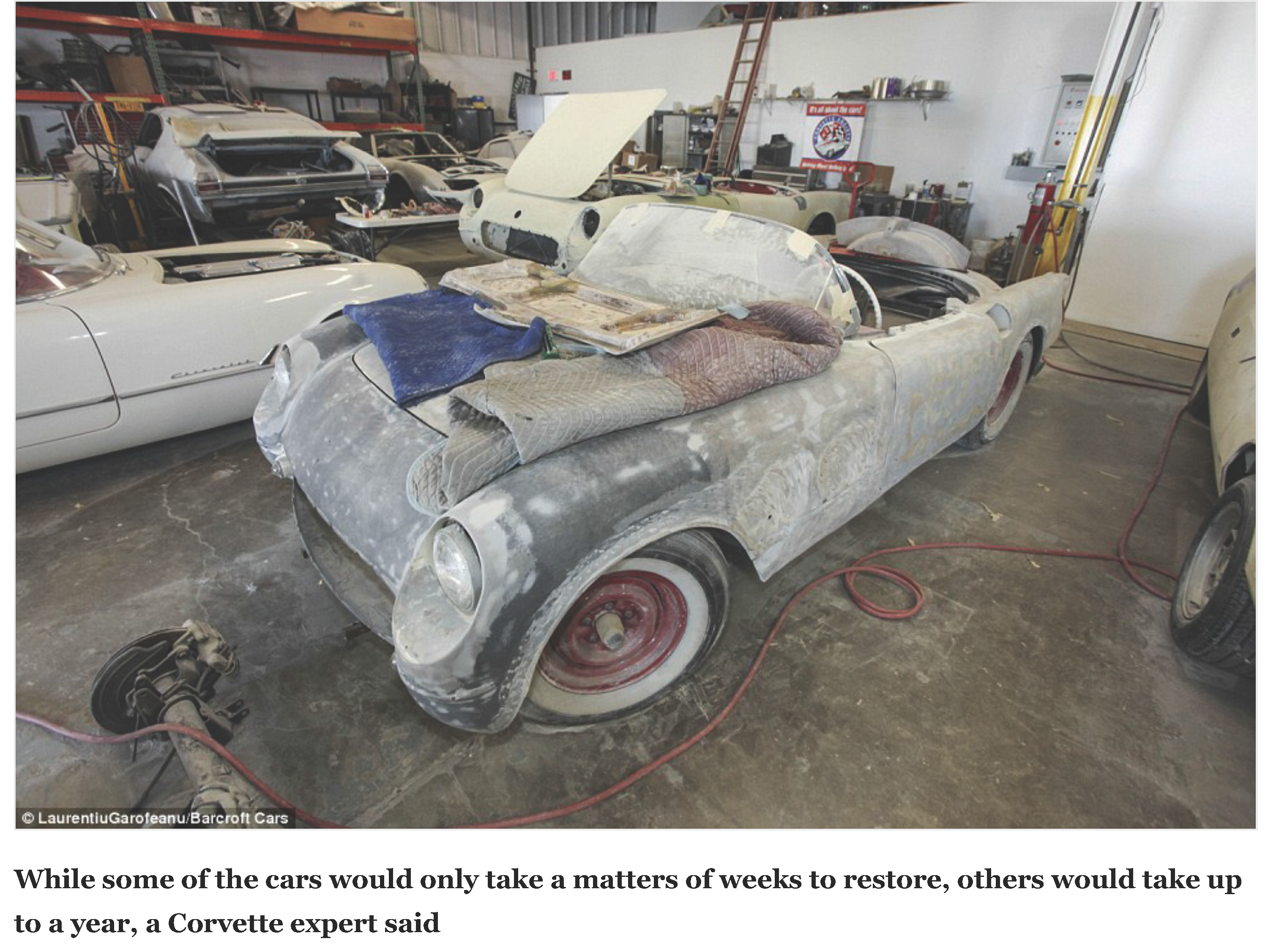 36 Corvettes are found collecting dust in a garage after 25 years | Daily Mail Online_Page_06